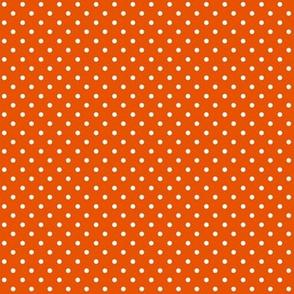 Swiss Dots Orange