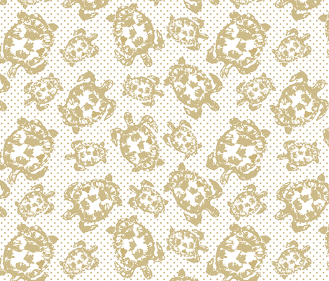 Turtle Dance fabric by lulabelle on Spoonflower - custom fabric