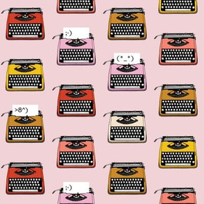 Typewriter Emojis* (Capote) || type text vintage analog symbols emoticons greetings