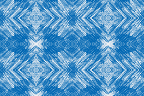 feathers 3 blue and white-ch fabric by sewbiznes on Spoonflower - custom fabric