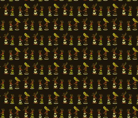 Trinidad & Tobago fabric by eppiepeppercorn on Spoonflower - custom fabric