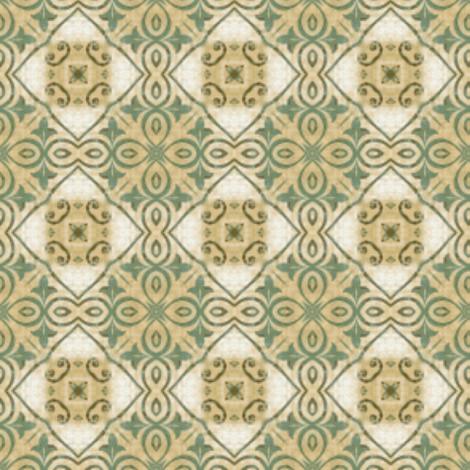 tile we meet again fabric by mezzime on Spoonflower - custom fabric