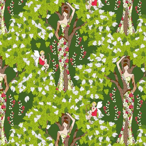 Daphne's Dilemma fabric by mag-o on Spoonflower - custom fabric