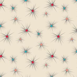 Atomic starburst