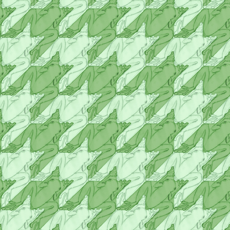 frogstooth fabric by weavingmajor on Spoonflower - custom fabric