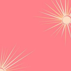 Coral starburst