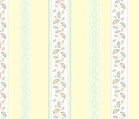 Parasol Stripes fabric by marthabowyer on Spoonflower - custom fabric