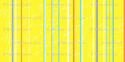 Daisy Stripes - lemon tart