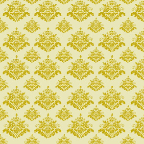 Rococo Pattern-Gold