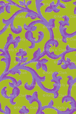 Chartreuse_Lavender_Scroll