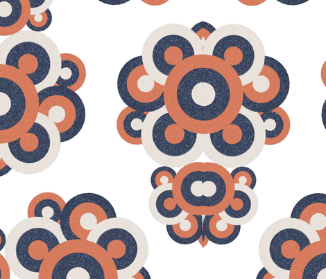 Mod Roundel Damask fabric by julia_canright on Spoonflower - custom fabric