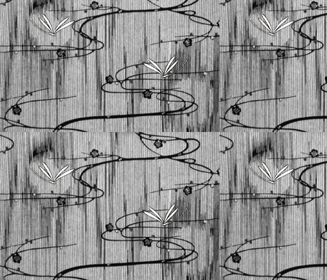 Two_dragonflies-ed fabric by materialsgirl on Spoonflower - custom fabric