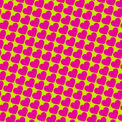 Hearts fabric by jadegordon on Spoonflower - custom fabric