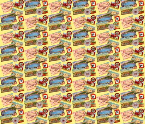 Get your Kicks fabric by artland95 on Spoonflower - custom fabric