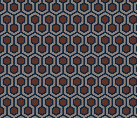 Honeycomb Traditional fabric by mariafaithgarcia on Spoonflower - custom fabric
