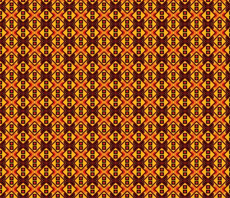 Warm Summer by Sylvie fabric by art_on_fabric on Spoonflower - custom fabric