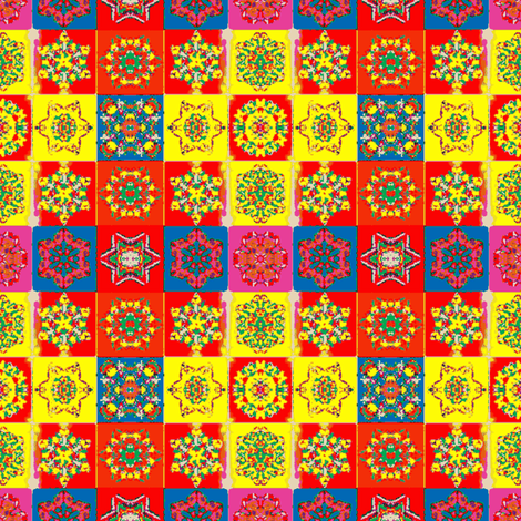 Harlequin Quilt fabric by amyvail on Spoonflower - custom fabric