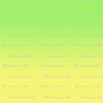 gradient lemon/lime