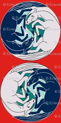 Yin Yang Horses 2