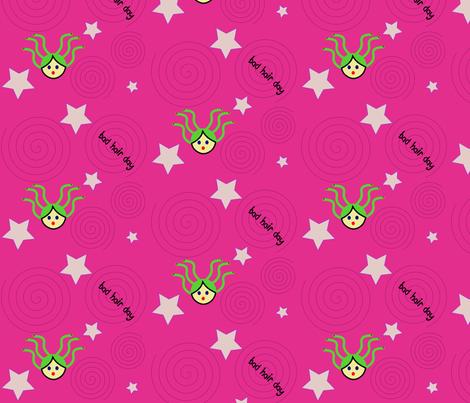 Medusa's Bad Hair Day fabric by itsahootdesigns on Spoonflower - custom fabric