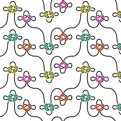 Not knots fabric by candyjoyce on Spoonflower - custom fabric