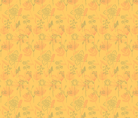 Flowers and Plants fabric by vinpauld on Spoonflower - custom fabric