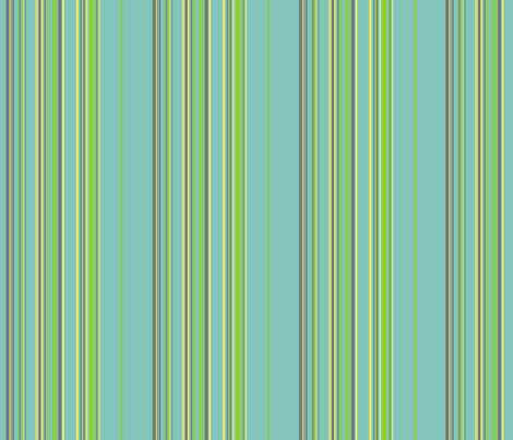 I Dream of Flying -stripes blue fabric by ruthevelyn on Spoonflower - custom fabric