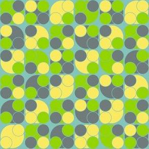 I Dream of Flying -dots 2 blue