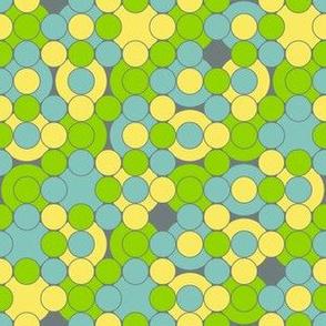 I Dream of Flying -dots 3 grey