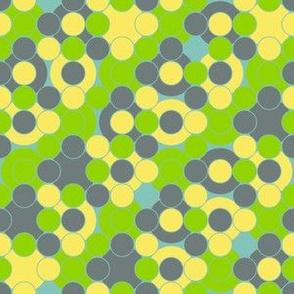 I Dream of Flying -dots 3 blue