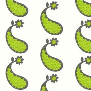 Sew Creative Paisley Green Lg