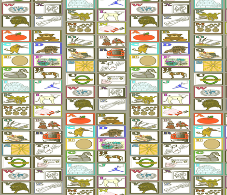 abcdef_0001-ed fabric by playbox_ on Spoonflower - custom fabric