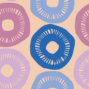 Sunshine - Blue, Periwinkle, Lavendar