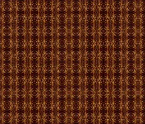 springmoss_brown fabric by tangledvinestudio on Spoonflower - custom fabric