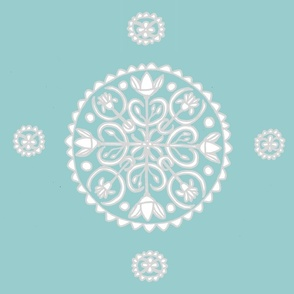 Lotus Flower Manadala