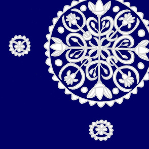 Indigo Lotus Mandala
