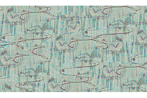 Dragonflies on pond - blue, aqua, purple, lavender fabric by materialsgirl on Spoonflower - custom fabric