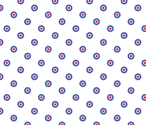 mods dots fabric by susiprint on Spoonflower - custom fabric