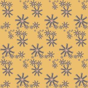 frog spot pinwheel motif
