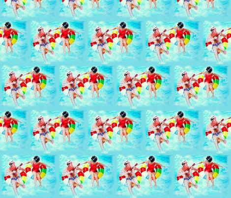 Pool fabric by bettieblue_designs on Spoonflower - custom fabric