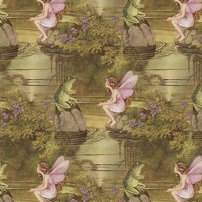 Fairy and Frog ~Ida Rentoul Outhwaite ~ Small