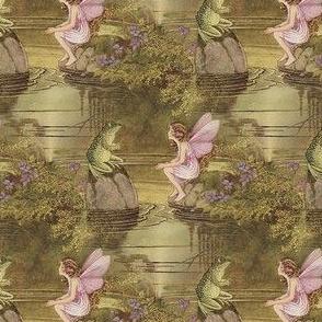 Fairy and Frog ~Ida Rentoul Outhwaite ~ Small