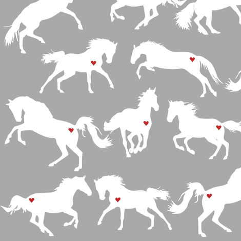 Equine Ecstacy fabric by smuk on Spoonflower - custom fabric