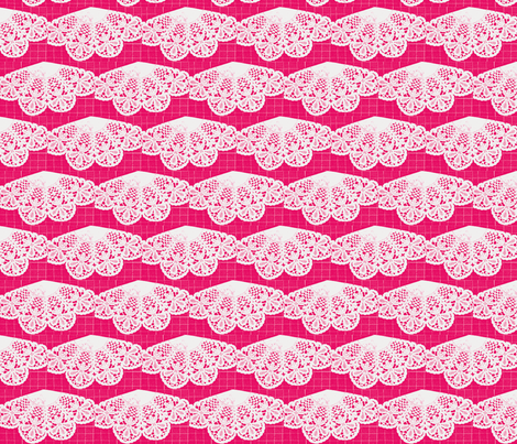 Migrating Hearts fabric by amyvail on Spoonflower - custom fabric