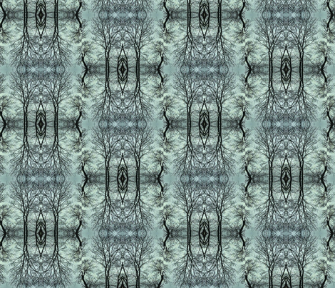 Forest Invitation fabric by relative_of_otis on Spoonflower - custom fabric