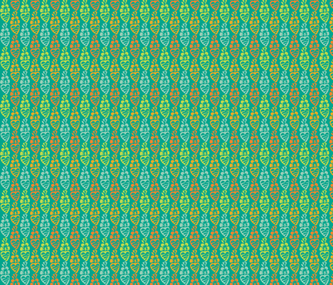 Rooted Heart fabric by jara_by_jacki on Spoonflower - custom fabric