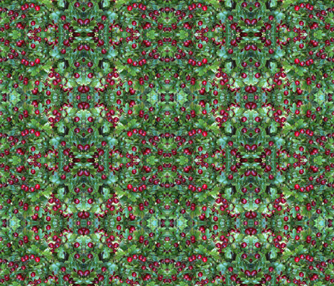 Christmas Kaleidoscope fabric by tallyra on Spoonflower - custom fabric