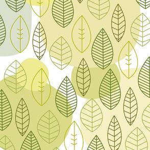 Cute leaf pattern