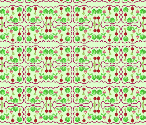 Peaceful Veggie Patch fabric by robin_rice on Spoonflower - custom fabric