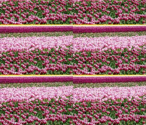 Purple Tulips fabric by tori_snow on Spoonflower - custom fabric